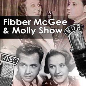 Fibber Makes Radio Speech For Red Cross 3-7-44 Public Domain