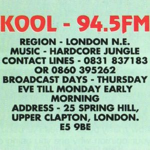 DJ Kane - Kool 94.5 FM - 8th January 1995