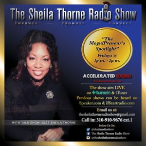 The Sheila Thorne Radio Show 3/31/17 *Actress Charlo Fortier Crossley sits down w/Talkshow Host Shei