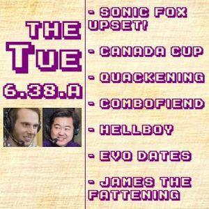 Tuesday 6.38.A: Sonic Fox Upset, Canada Cup, The Quakening, Combofiend, Evo Dates, Etc. (2017-10-31)