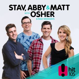 Stav Abby and Matt with Osher - May - Wednesday 10