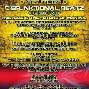 DISFUNKIONAL BEATS 26TH MAY DJ AMMO T DJ DISTORTER  MCS STOKE WINSTON B CHRIS LEE BOUNCIN PIECE MC