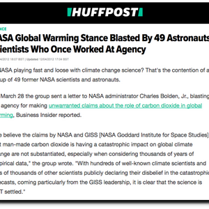 Five Years Since NASA's Finest Called For An End To Junk Climate Science