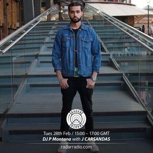 Radar Radio Guest Mix - @JCarsandas #TheMontanaShow hosted by @DJ_PMontana