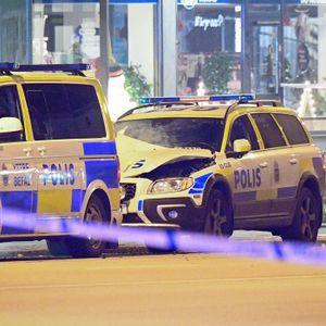 Sprängattentat mot polisbil i Malmö