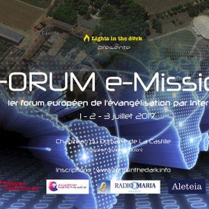 Forum E - Mission 03 - 2017 - 07 - 01 Matthias Et Régine Rambaud - P
