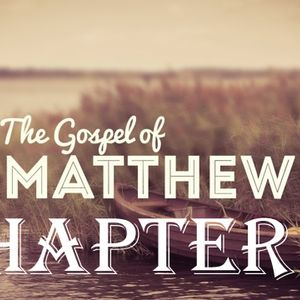 Matthew 3 / Isaiah 40