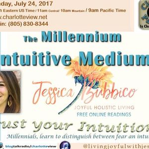 Jul 24 ~ Charlotte View: The Millennium Intuitive Medium. Jessica Bubbico (NC)