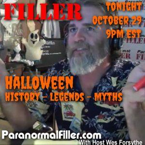 Paranormal Filler Halloween Show