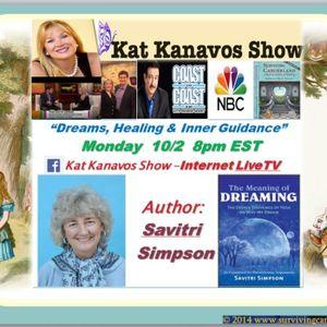 Kat Kanavos Show: Dreams and Dreaming!