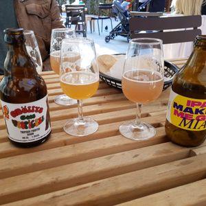 Malmo Salluhallen: BRAW's IPA Makes Me Go MIA and Möllys Bryggeri's Möllys Goes Tropicana