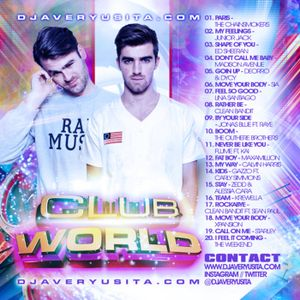 Clubworld Mixed By Avery Usita 011 Podcast - Dance