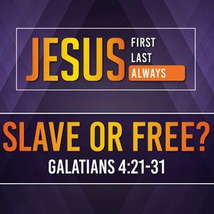 Slave or Free? (Audio)