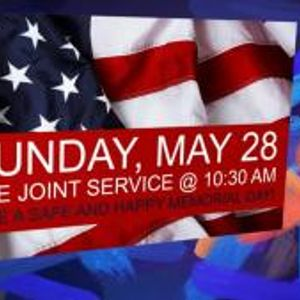 May 21, 2017 Contemporary Service