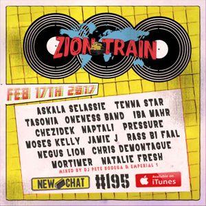New Chat #195 - Zion Train Radio 2-17-2017