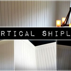 Vertical Shiplap | Junkin' With Jenny