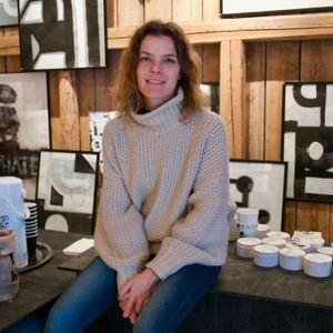 Ylva Skarp - kalligraf och designer som går hem i hela världen
