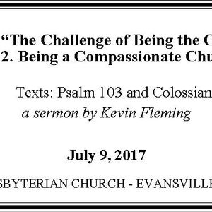 Being a Compassionate Church (Audio)