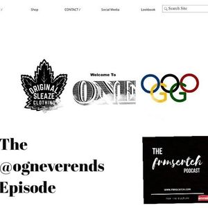 The #FRMSCRTCH Podcast featuring Orginality Never Ends Clothing Brand