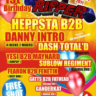 RippeR Part 15 - 1st Birthday Bash - Maynard B2B Yesi with Gni MC