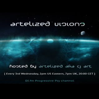 Artelized Visions 006 (June 2014) with guest The Digital Blonde on DI FM