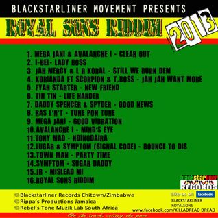 ROYAL SONS RIDDIM PROMO - BLACKSTARLINER RECORDS 2013 (RIDDIMS FANATIC PROMO)