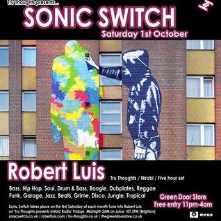 Robert Luis Sonic Switch October 1st @ Green Door Store - 5 Hour DJ Set