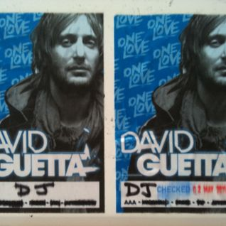 Jay C live @ David Guetta One Love Tour