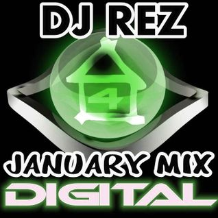 4House Digital January 2012 (DJ Rez Mix)