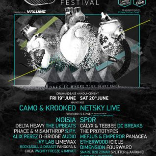 Extrawelt - Live @ Urban Art Forms 2015 - 19.06.2015