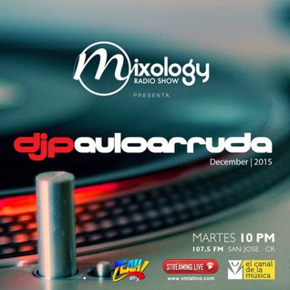 Paulo Arruda Mixology Radio Show • 107.5 YEAH! (Costa Rica) December   2015