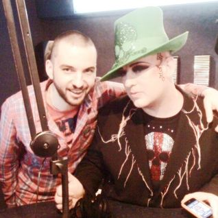 #MarriottMeets Boy George / March 2010