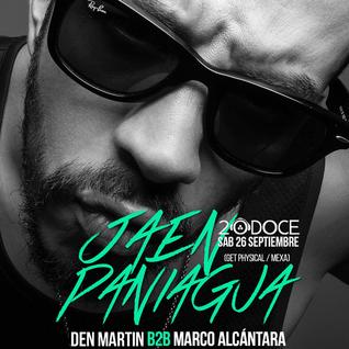 Den Martin & Marco Alcantara Warm Up Set (Jaen Paniagua @20doce) 26.09.2015