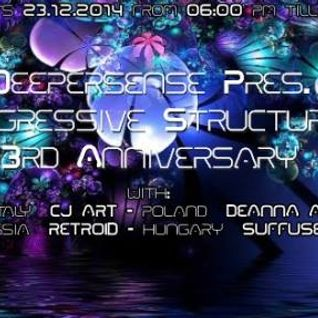 Retroid - Progressive Structures 3rd Anniversary on House Radio (12-23-2014)