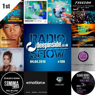DEEPINSIDE RADIO SHOW 106 (Michelle Weeks Artist of the week)