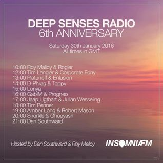 d-phrag & Toppy B2B - Guest Mix for Deep Senses Radio on INSOMNIAFM (January 2016)