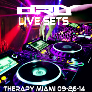 Orly Live @ Therapy Miami 09-26-14