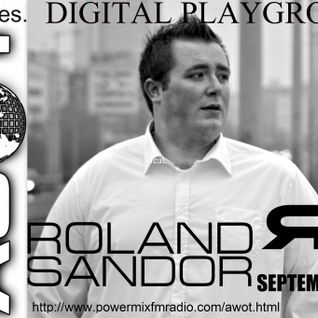 AWOT pres. Digital Playground feat. Roland Sandor (12.09.2012) GUESTMIX