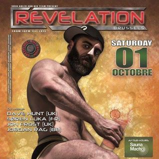 Jon Frost Live at Revelation Party, Brussels 01.10.16