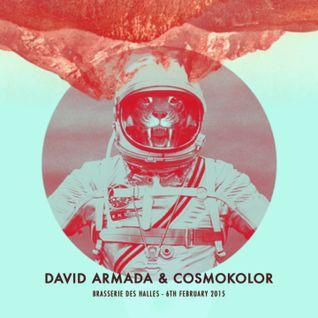 David Armada & Cosmokolor - Brasserie des Halles