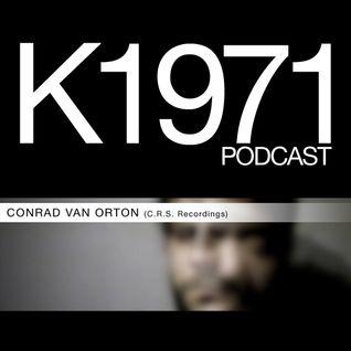 CONRAD VAN ORTON (C.R.S. Recordings/Key Vinyl) K1971 PODCAST (www.k1971.com)