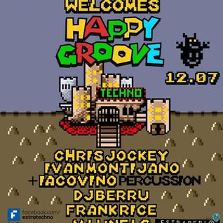 Frank Rice @ estratechno welcomes happy groove