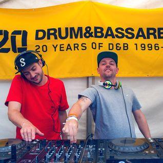 Drum & Bass Arena Summer BBQ - 05 - Serum b2b Voltage (Low Down Deep) @ MoS - London (03.07.2016)
