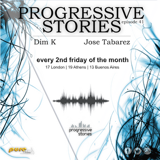 Jose Tabarez - Progressive Stories 041 [Jun 10 2016] on Pure.Fm
