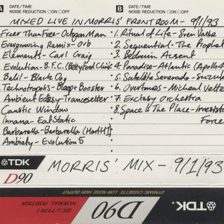 Mixmaster Morris Live mix 09/01/93 side A