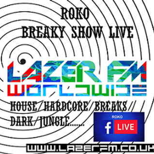 Lazerfm Breaky Show Live on Livestream....RoKo LiVe
