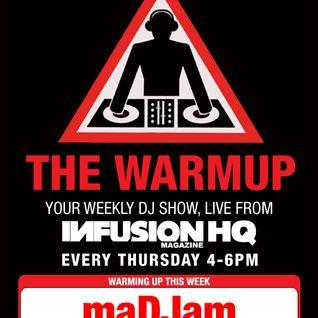 maDJam Live@Infusion Weekend Warmup Dubai September 26, 2013