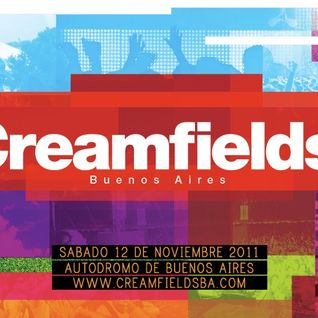 Danny Howells - Live @ Creamfields, Buenos Aires on Delta 90.3 FM - 12-Nov-2011