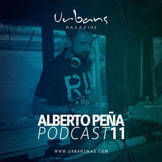 Alberto Peña Podcast 11 - Urbans Magazine