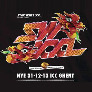 Dj Wasp - Star Warz XXL NYE 2013 promomix (Drum & Bass)